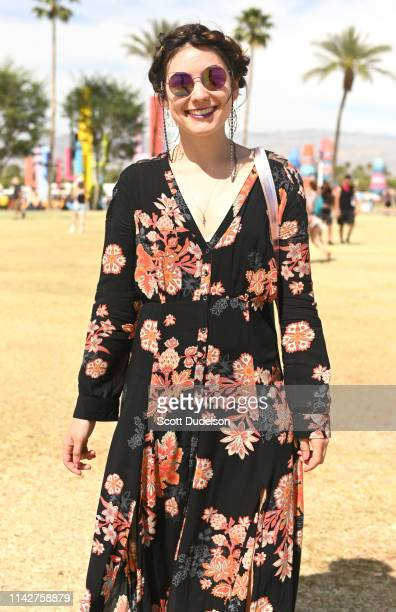 Fans attend Weekend 1 Day 3 of the 2019 Coachella Valley Music and Arts Festival on April 14 2019 in Indio California