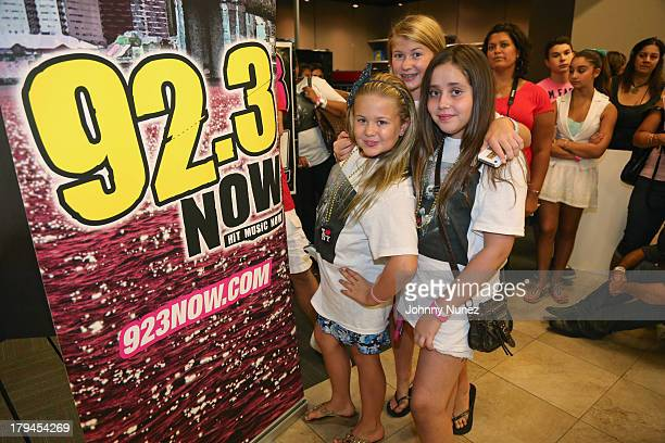 Fans await the Ariana Grande Meet Greet at Best Buy Union Square on September 3 2013 in New York City