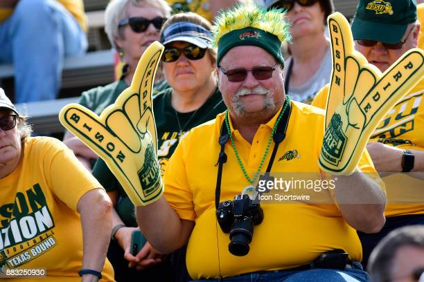 Fans came from Fargo to watch the North Dakota State University Bison play the Indiana State University Sycamores in a Missouri Valley Conference...