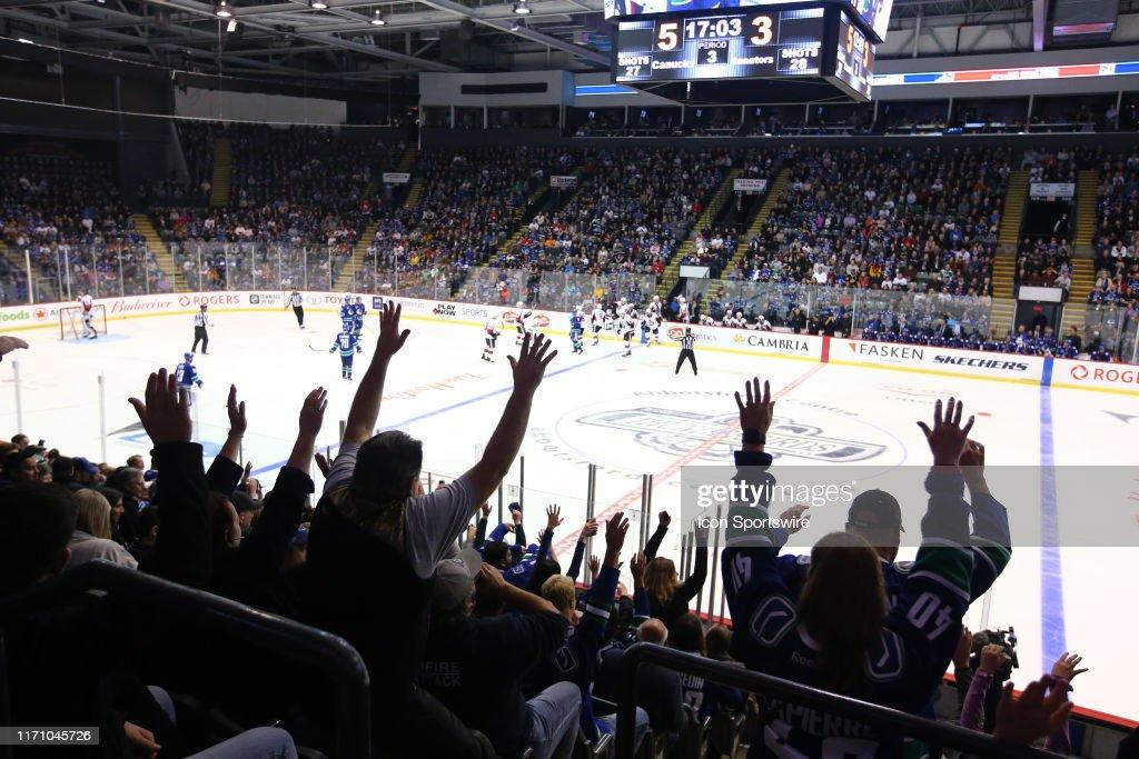 NHL: SEP 23 Preseason - Senators v Canucks : News Photo