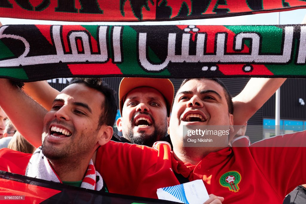 Fans at FIFA World Cup Russia 2018