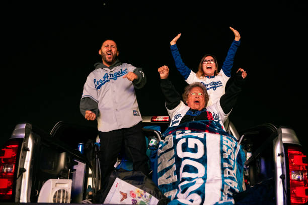 CA: Dodgers Fans Celebrate First World Series Championship In 32 Years