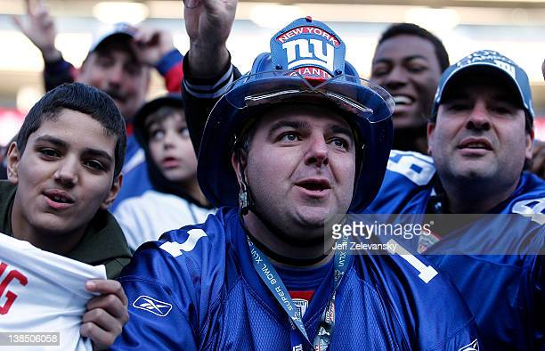 New 45 New York Giants Super Bowl Xlvi Fan Celebration At Metlife  for sale