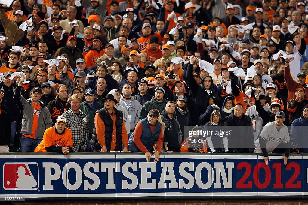 Division Series - New York Yankees v Baltimore Orioles - Game Two : News Photo