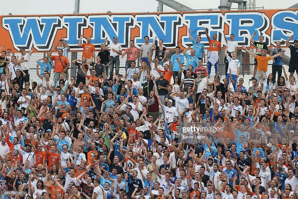 Olympique de Marseille FC v Montpellier Herault FC- French Ligue 1 : Photo d'actualité