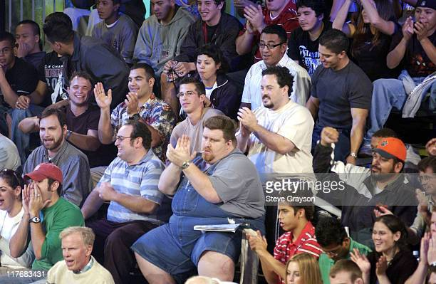 Fans cheer on the action in the 60kg GrecoRoman Division