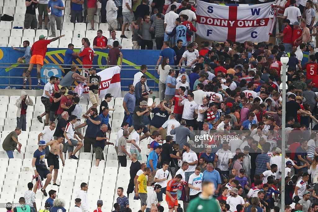 England v Russia - Group B: UEFA Euro 2016 : News Photo