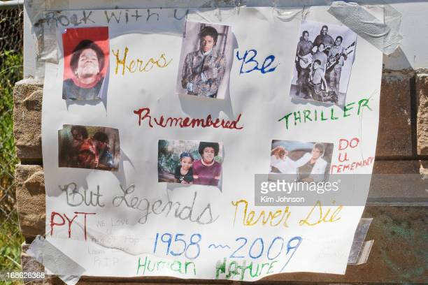 CONTENT] Fans come to childhood home of Michael Jackson in Gary Indiana the day that he died June 25 2009 and leave memorials and tributes