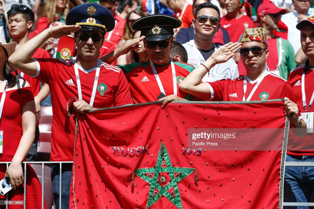 Image result for morocco fans portugal