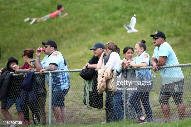 Fans during the round 10 Mitre 10 Cup match between Northland and Otago at Semenoff Stadium on October 13 2019 in Whangarei New Zealand