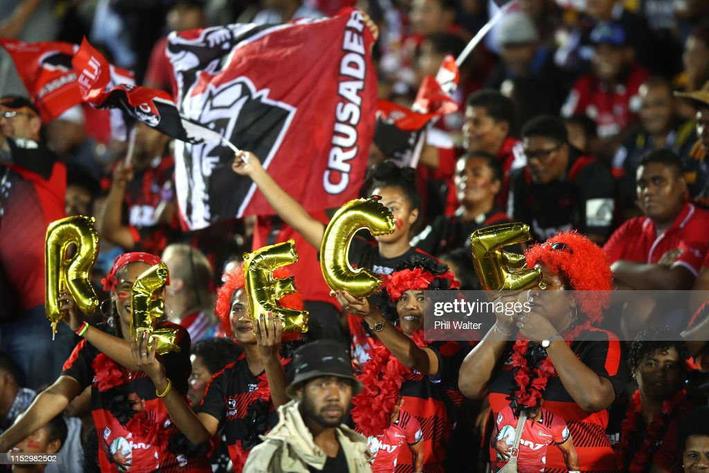 Super Rugby Rd 16 - Chiefs v Crusaders : News Photo