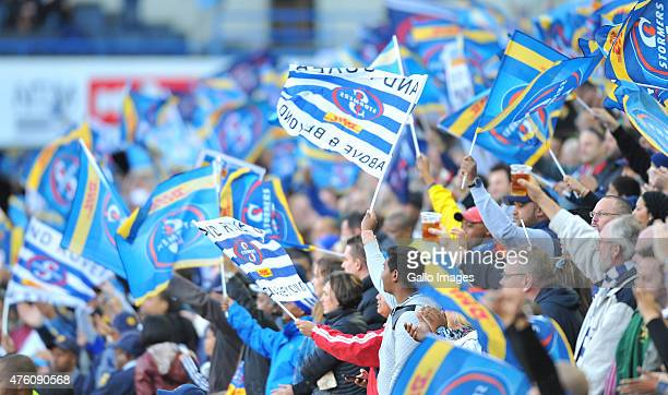fans during the Super Rugby match between DHL Stormers and Emirates Lions at DHL Newlands Stadium on June 06 2015 in Cape Town South Africa
