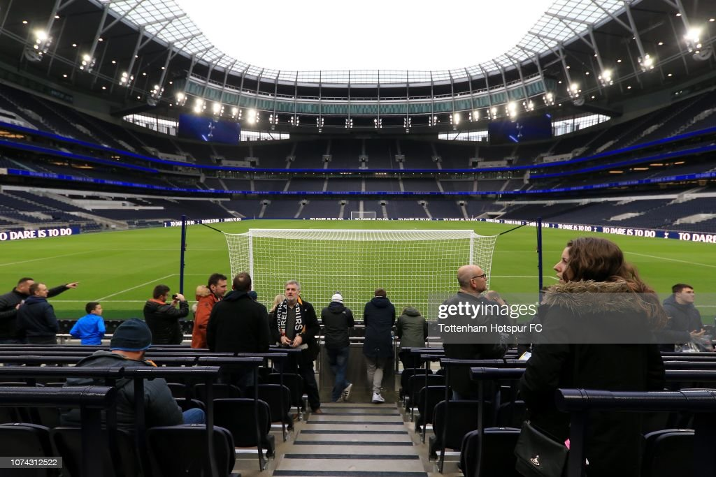 Tottenham Hotspur New Stadium Fan Event : News Photo