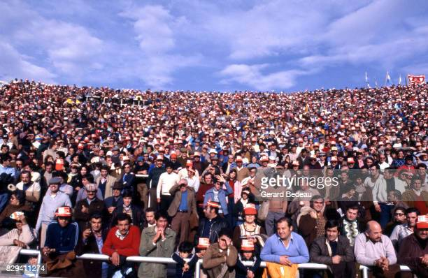 Fans during the World Cup match between Scotland and Netherlands in Estadio Mendoza Mendoza Argentina on 11th June 1978