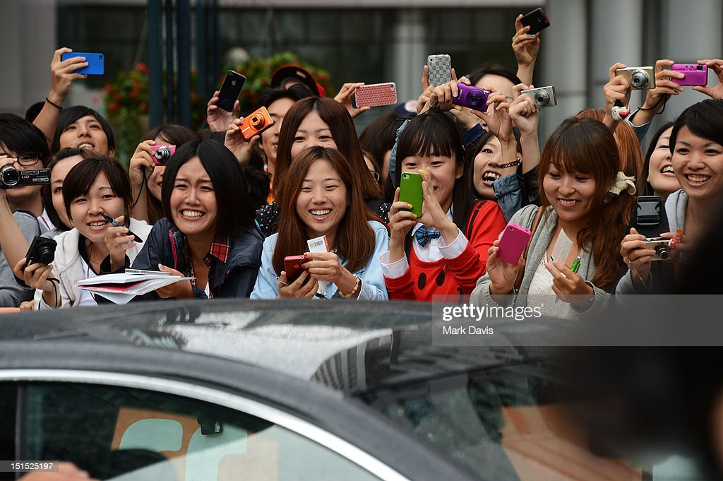 Fans eagerly await the arrival of the stars of 'Thermae Romae' during the 2012 Toronto International Film Festival at Roy Thomson Hall on September 8, 2012 in Toronto, Canada.