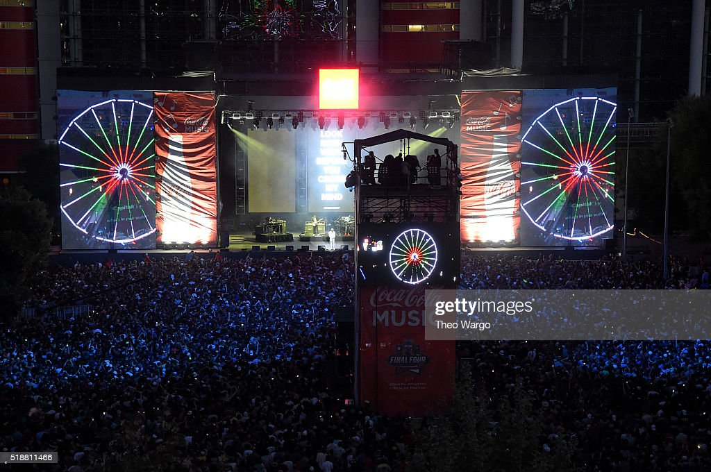 Coca-Cola Music Mix at the NCAA March Madness Music Festival - Day 2 : News Photo