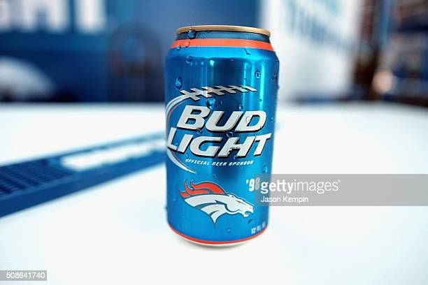 Fans enjoy football-themed activities at Bud Light at Union Square. Bud Light, the beer of the fan and official beer sponsor of the NFL, is in San...