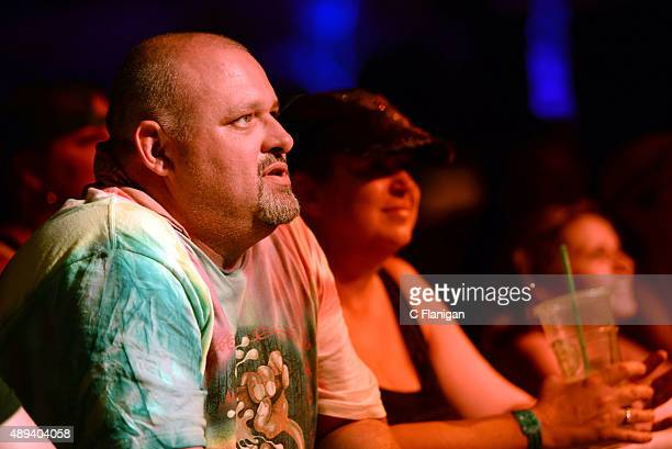 Fans enjoy music during 2015 KAABOO Del Mar at the Del Mar Fairgrounds on September 20, 2015 in Del Mar, California.