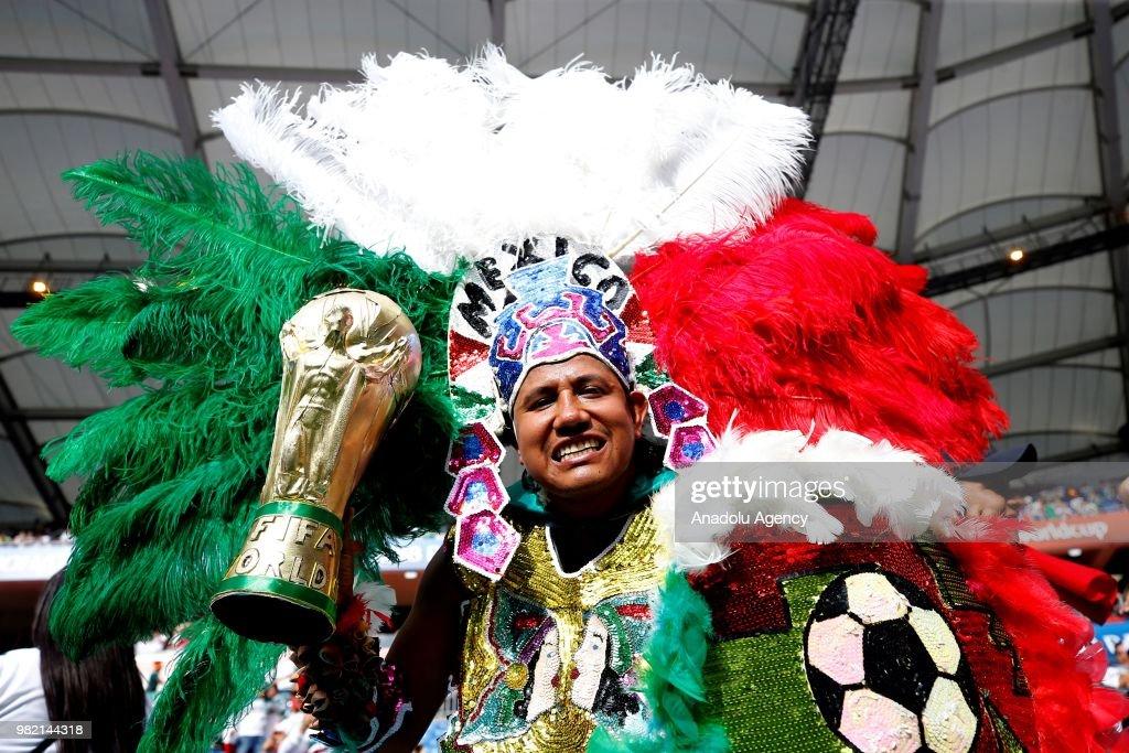 Korea Republic v Mexico : Group F - 2018 FIFA World Cup Russia : News Photo