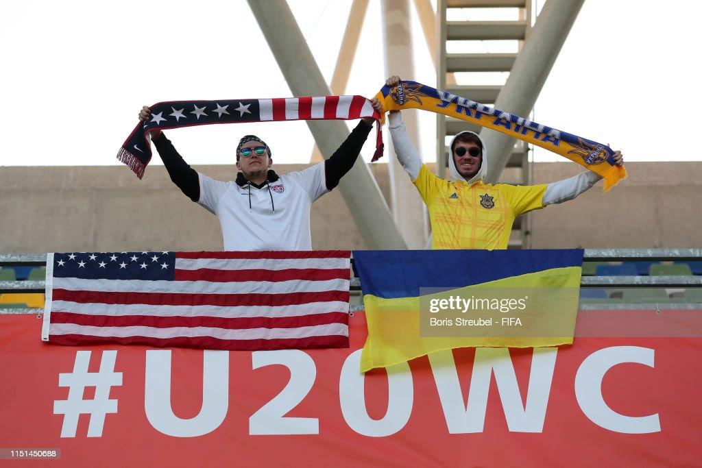 Ukraine v USA: Group D - 2019 FIFA U-20 World Cup : News Photo