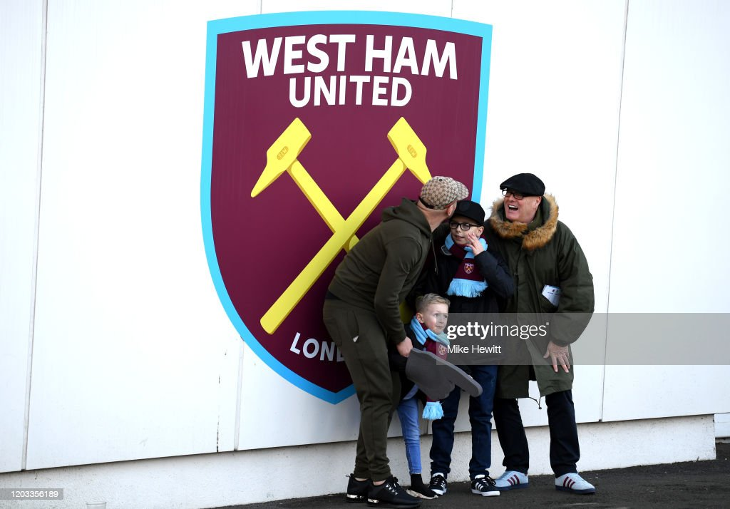 West Ham United v Brighton & Hove Albion - Premier League : Nachrichtenfoto