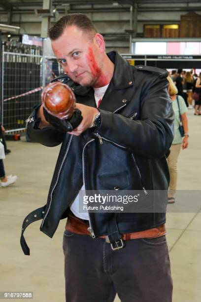 MELBOURNE AUSTRALIA FEBRUARY Fans enjoy Walker Stalker Con Melbourne 2018PHOTOGRAPH BY Chris Putnam / Barcroft Images 44 207 033 1031...