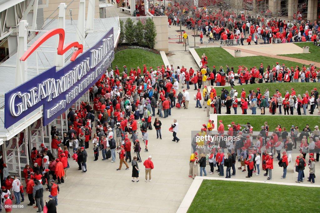 Philadelphia Phillies v Cincinnati Reds : News Photo