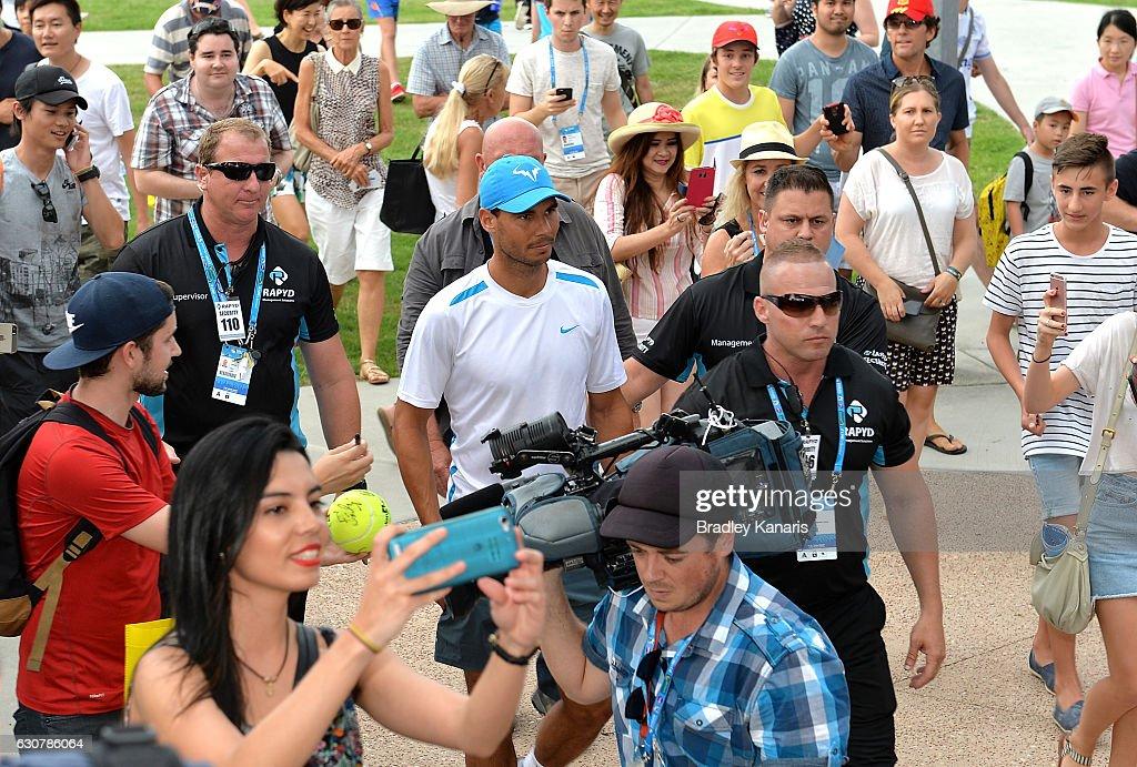 2017 Brisbane International - Day 2 : News Photo