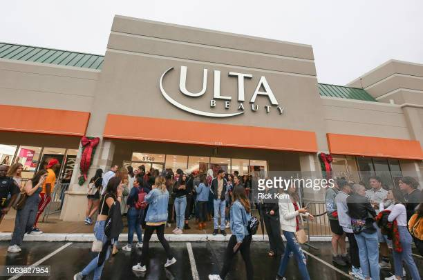 Fans gather at local Ulta Beauty in Houston to greet Kylie Jenner. The impromptu visit to promote the exclusive launch of Kylie Cosmetics sparked...