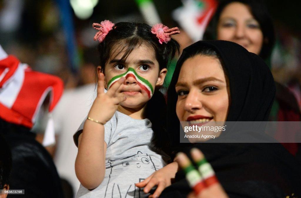 Iran v Portugal : Group B - 2018 FIFA World Cup Russia : News Photo