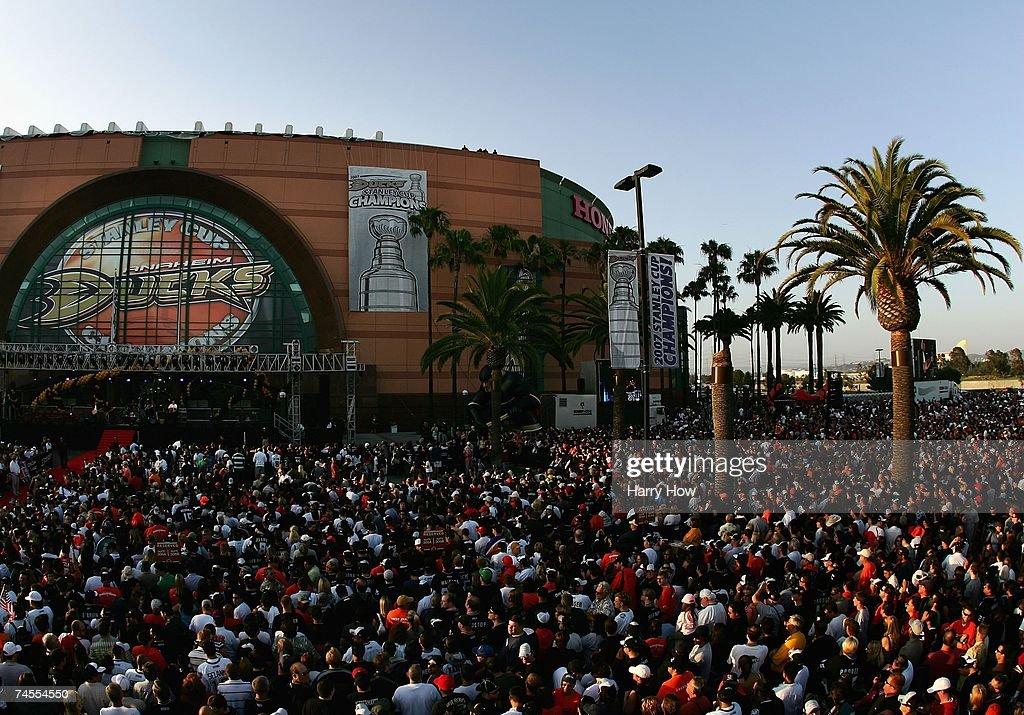 Anaheim Ducks Stanley Cup Victory Celebration : News Photo
