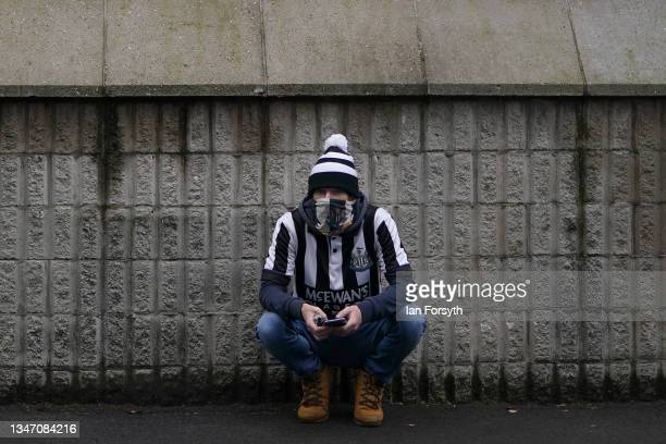 Fans head to St Jame's Park football stadium ahead of their game against Tottenham Hotspur and their first game after Newcastle United's takeover on...