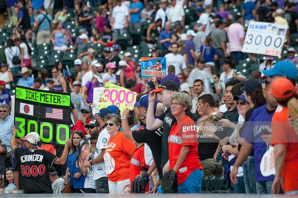 Miami Marlins v Colorado Rockies : News Photo