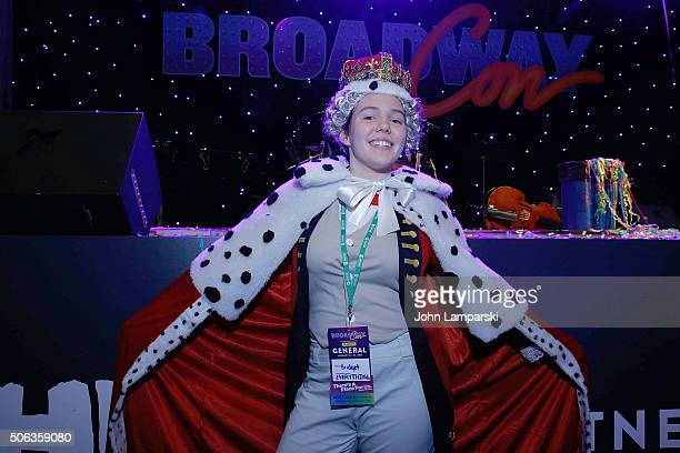 Fans in costume attend BroadwayCon 2016 at the Hilton Midtown on January 22, 2016 in New York City.