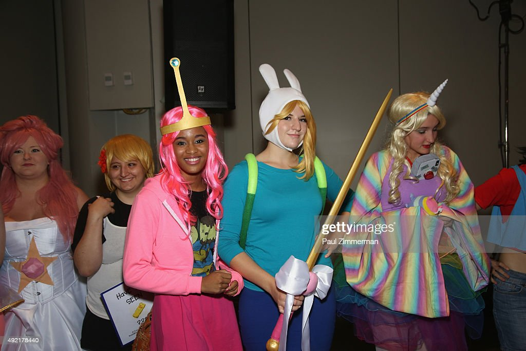 Cartoon Network Press Hours, Signings And Panels At New York Comic Con - Saturday October 10, 2015 : News Photo