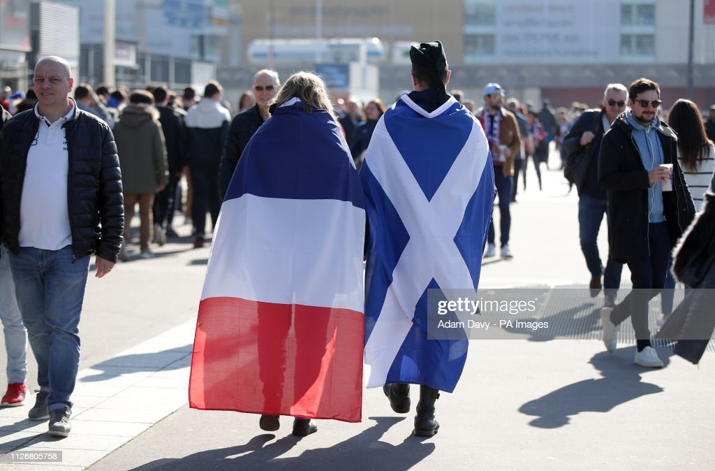 France v Scotland - Guinness Six Nations - Stade De France : News Photo
