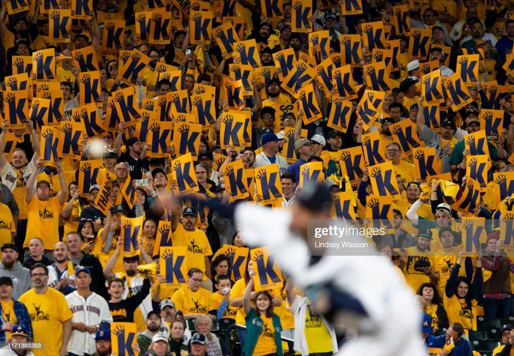 Oakland Athletics v Seattle Mariners : News Photo