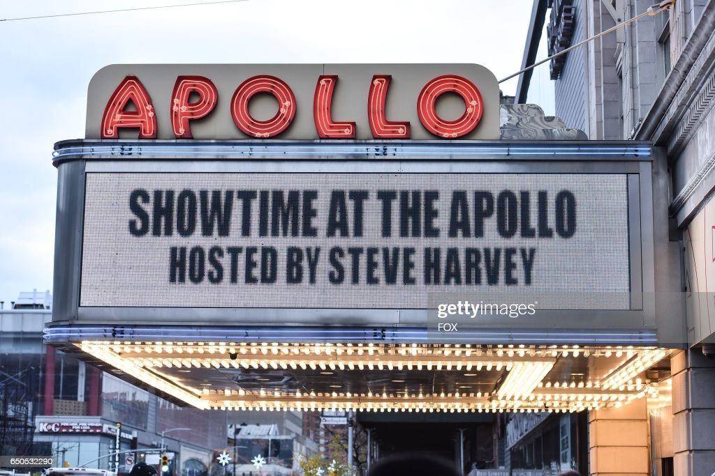Fans line up at the Apollo Theater for SHOWTIME AT THE APOLLO airing Monday, Dec. 5 (8:00-10:00 PM ET/PT) on FOX.