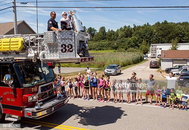 Fans lined the street outside of the Biddeford Arena for a chance to catch a glimpse of Brian Dumoulin and the 2016 Stanley Cup Dumoulin brought the...