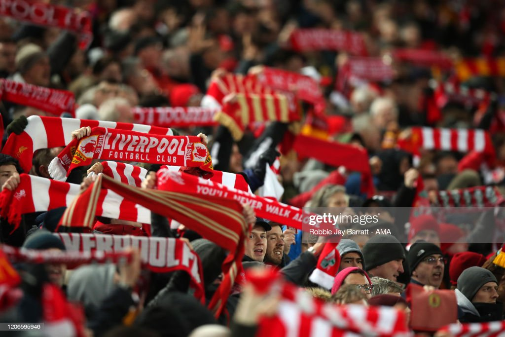 Liverpool FC v Atletico Madrid - UEFA Champions League Round of 16: Second Leg : Nachrichtenfoto