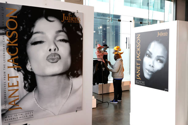 CA: Press Preview For Julien's Auctions: Iconic Treasures From The Iconic Career And Life Of Janet Jackson