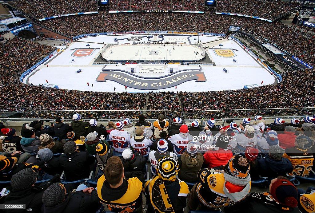2016 Bridgestone NHL Winter Classic - Montreal Canadiens v Boston Bruins : News Photo