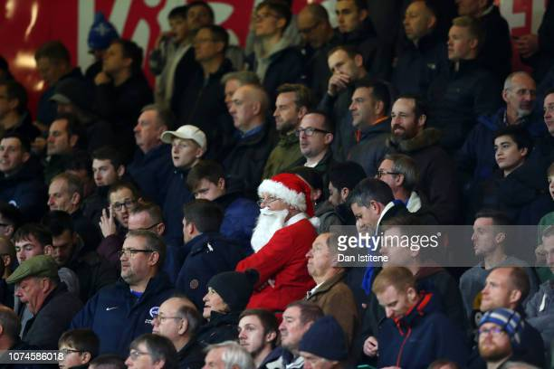 Fans look on during the Premier League match between AFC Bournemouth and Brighton Hove Albion at Vitality Stadium on December 22 2018 in Bournemouth...