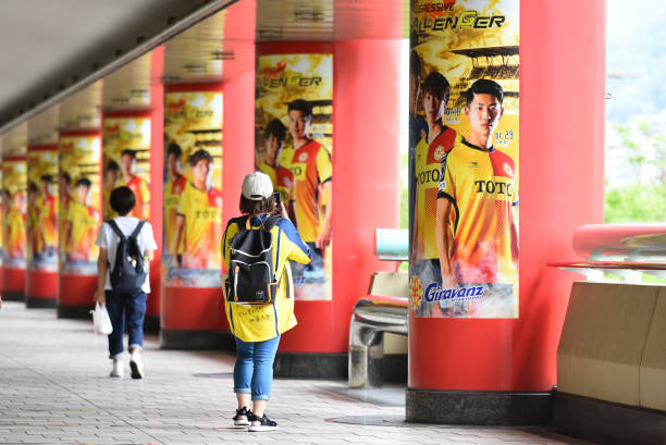 JPN: Giravanz Kitakyushu v Renofa Yamaguchi - J.League Meiji Yasuda J2