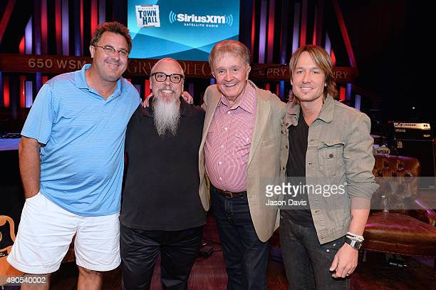 Bill anderson images et photos getty images fans meet and greet recording artists after the siriusxm townhall with bill anderson vince gill and m4hsunfo