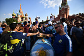 moscow russia fans argentina gather to