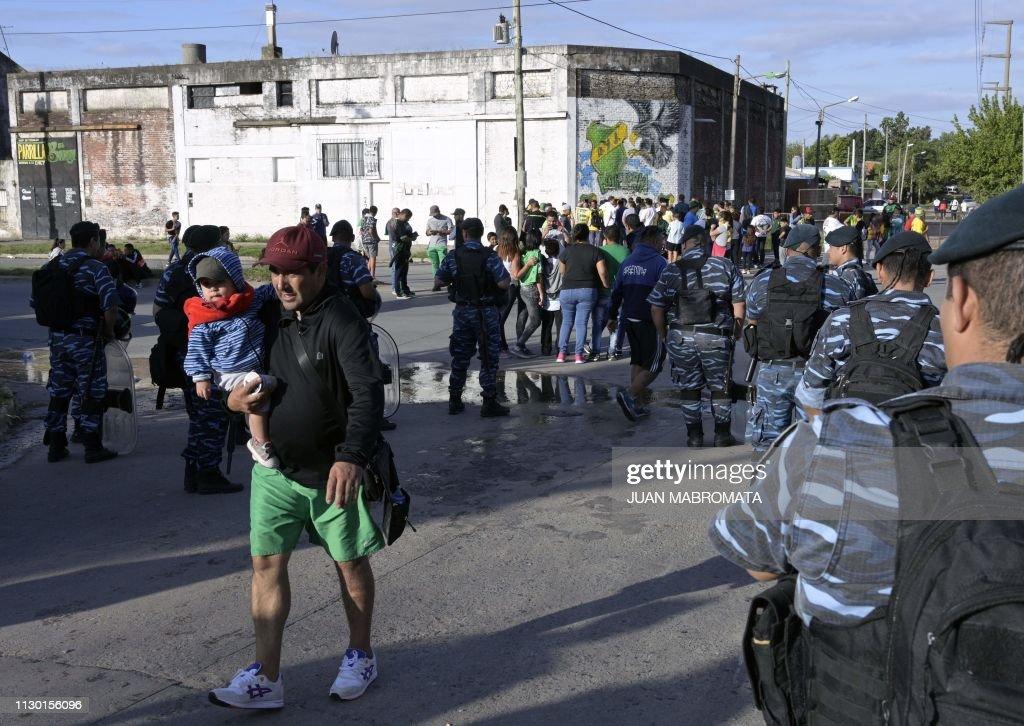 FBL-ARGENTINA-DEFENSA Y JUSTICIA : Foto jornalística