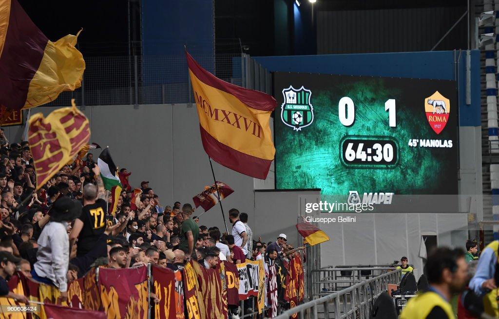 US Sassuolo v AS Roma - Serie A : News Photo