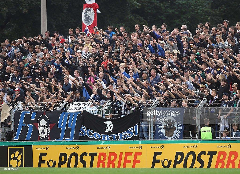 SV Babelsberg v VfB Stuttgart - DFB Cup : News Photo