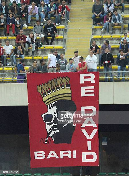 Fans of Bari during the Serie B match between AS Bari and US Citta di Palermo at Stadio San Nicola on September 24 2013 in Bari Italy